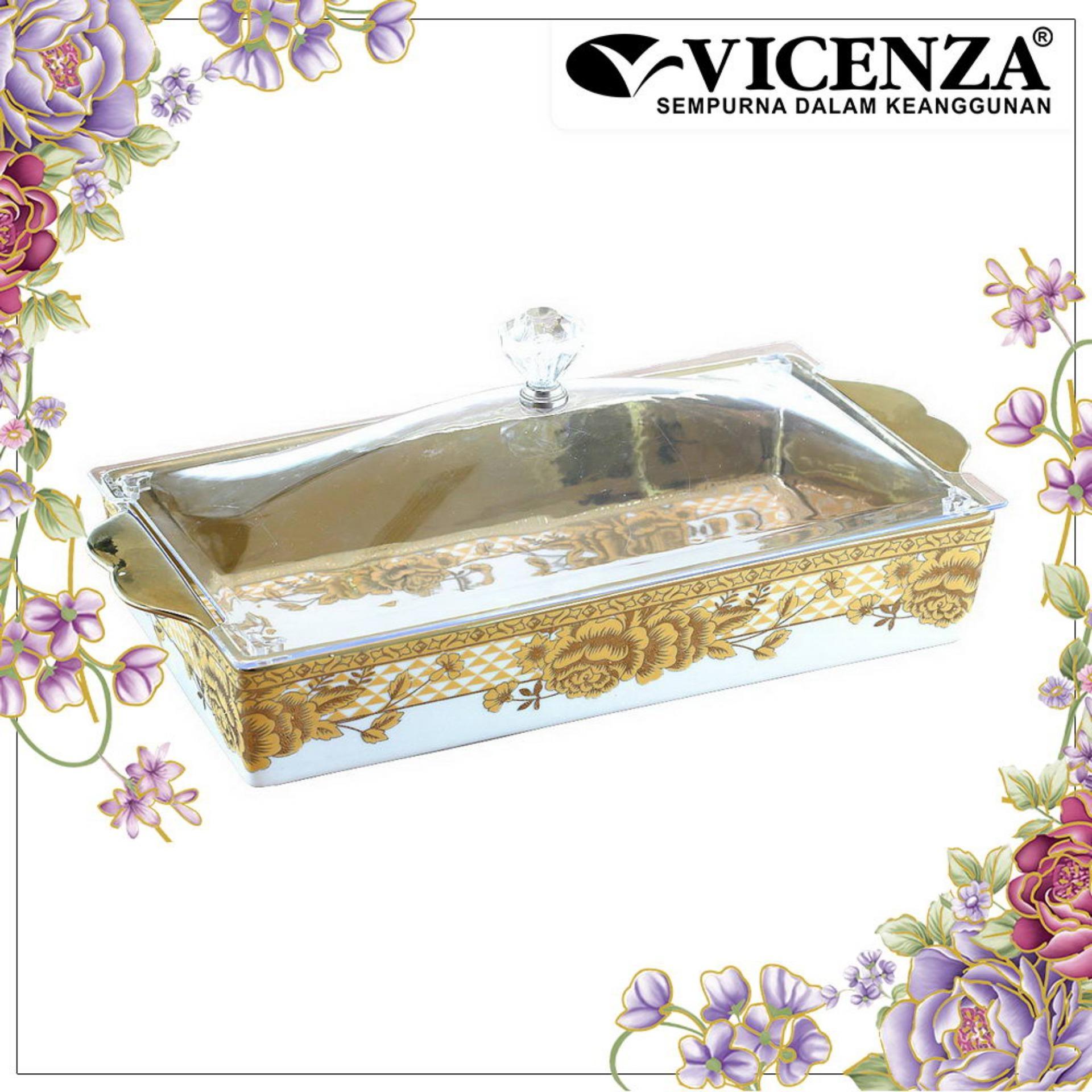 Spesifikasi Vicenza Tableware Crp138 Tempat Kue Persegi Square Cake Plate Paling Bagus