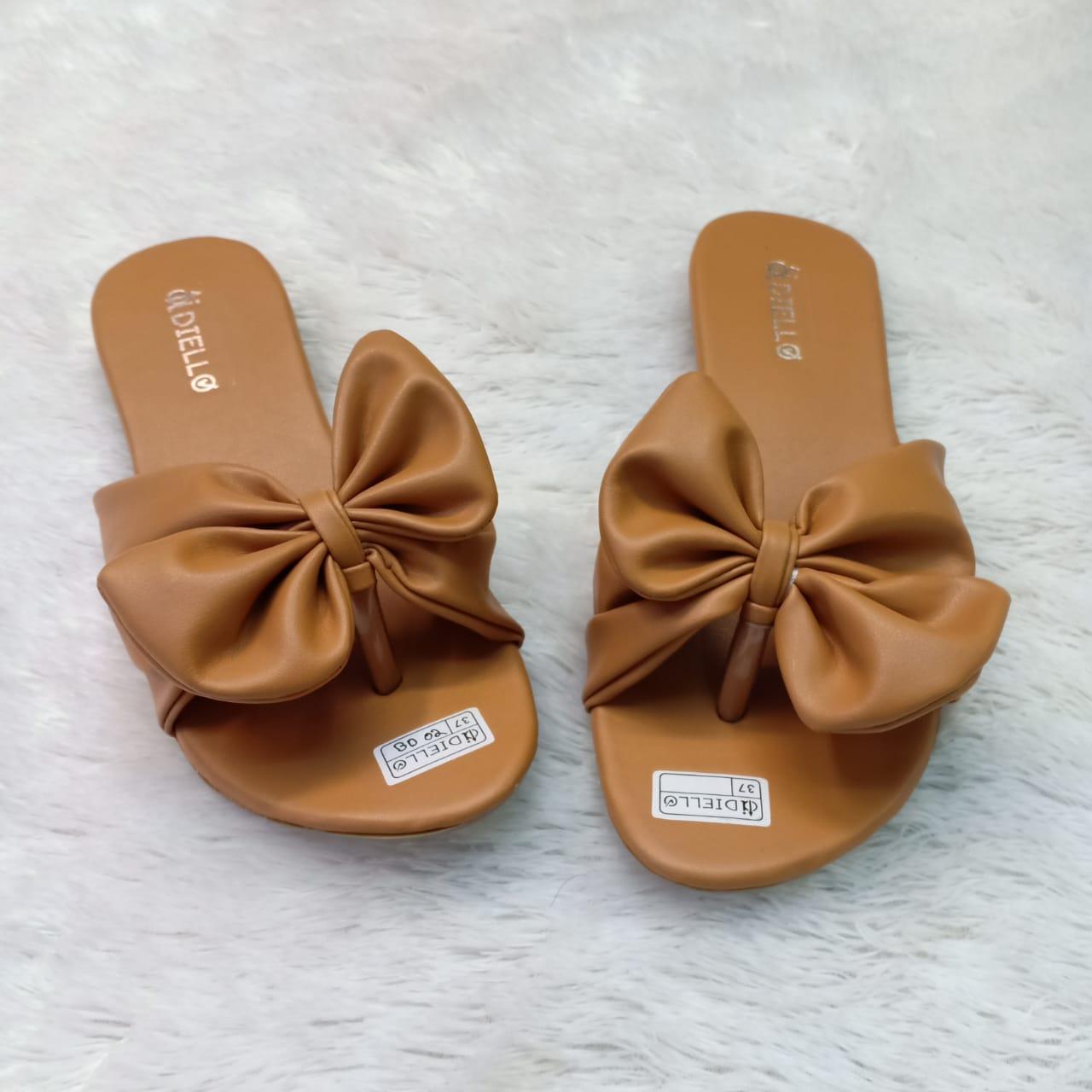 Detail Gambar Sandal Teplek Pita Polos Wanita Murah Model Terbaru/Sandal Flat Wanita/Sandal Selop Wanita-MJ Terbaru