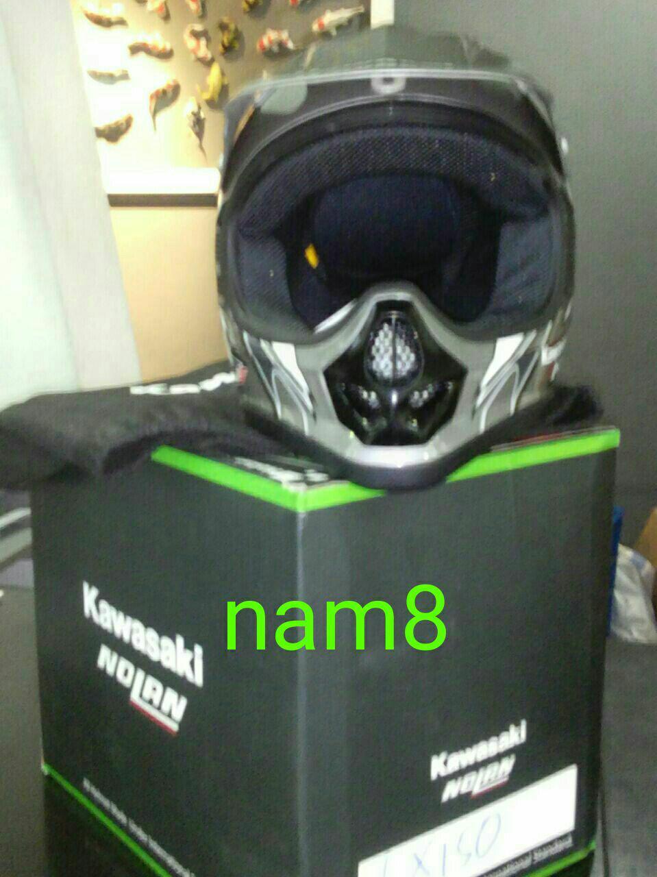 Helm Kawasaki KLX 150