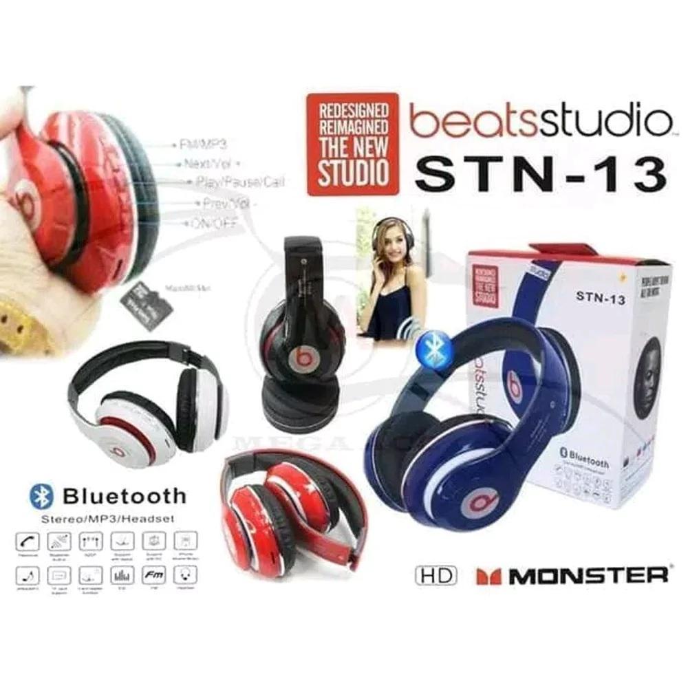 Detail Gambar Headset Bluetooth Beats Studio STN-13 / Headphone Bando Bluetooth Terbaru