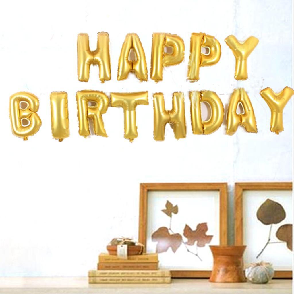 Kelebihan Balon Huruf Happy Birthday Satu Set Terkini Daftar Harga Pink