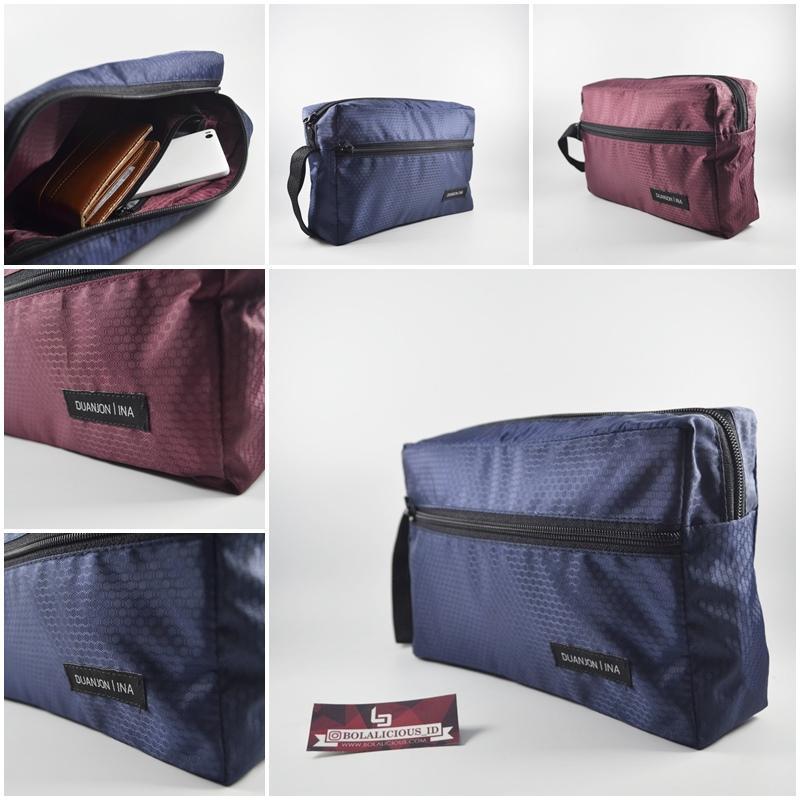 Bolalicious / Handbag bolak-balik Duanjon Original Maroon-navy / Handbag keren