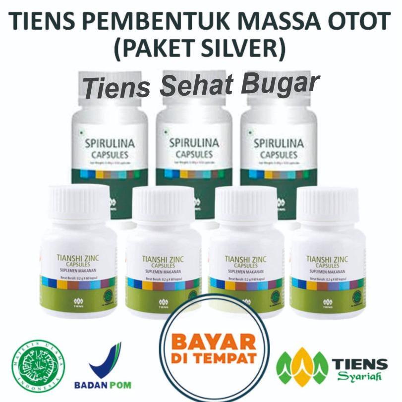 Harga Tiens Nutrisi Fitness Pembentuk Massa Otot Herbal Paket Silver By Tiens Sehat Bugar Baru Murah