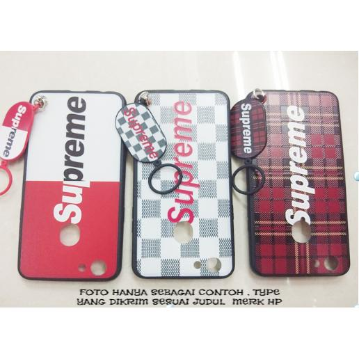 Softcase/Case Motif Supreme For VIVO Y53 Free Gantungan Keren - IRD