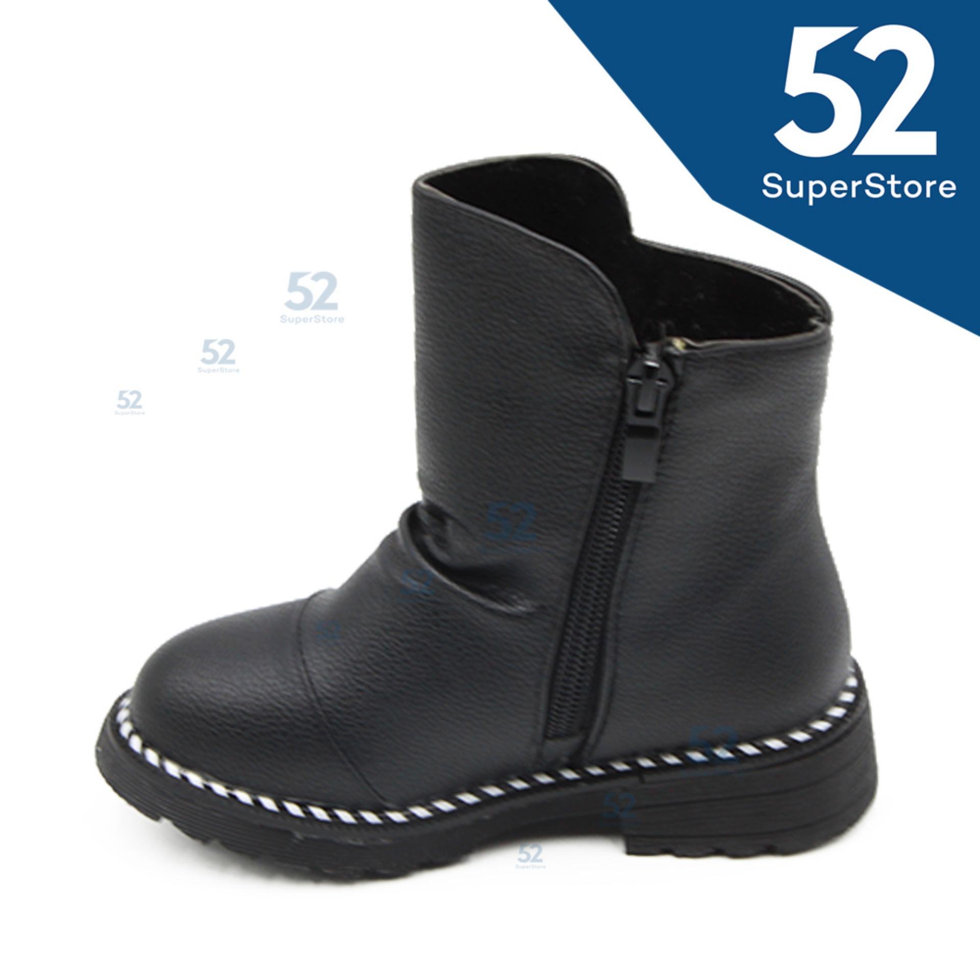 Cek Harga Baru 52 Fashion Sepatu Anak Boot 1611 111 Black Size 26 31 Sandal Laki 1604 306 Brown 4