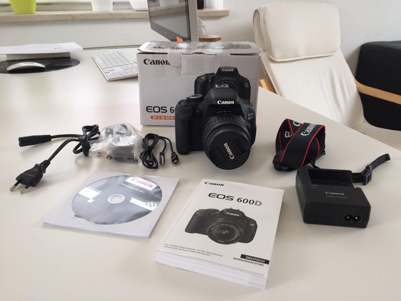 Canon Eos 600D Kit 18 55MM IS II