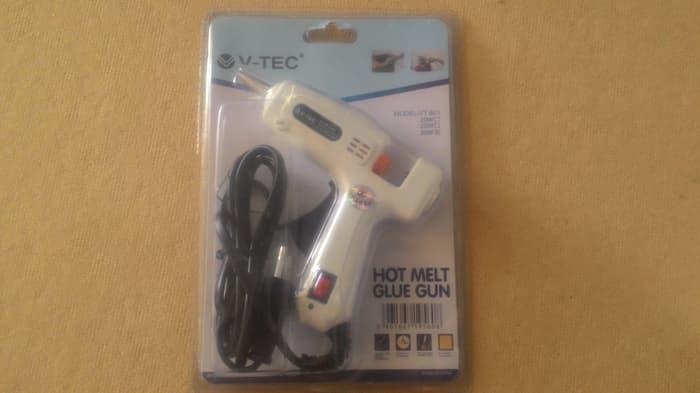 TERLARIS Alat Lem Tembak On Off / Hot Melt Glue Gun / Glue Stick 30watt PROMO