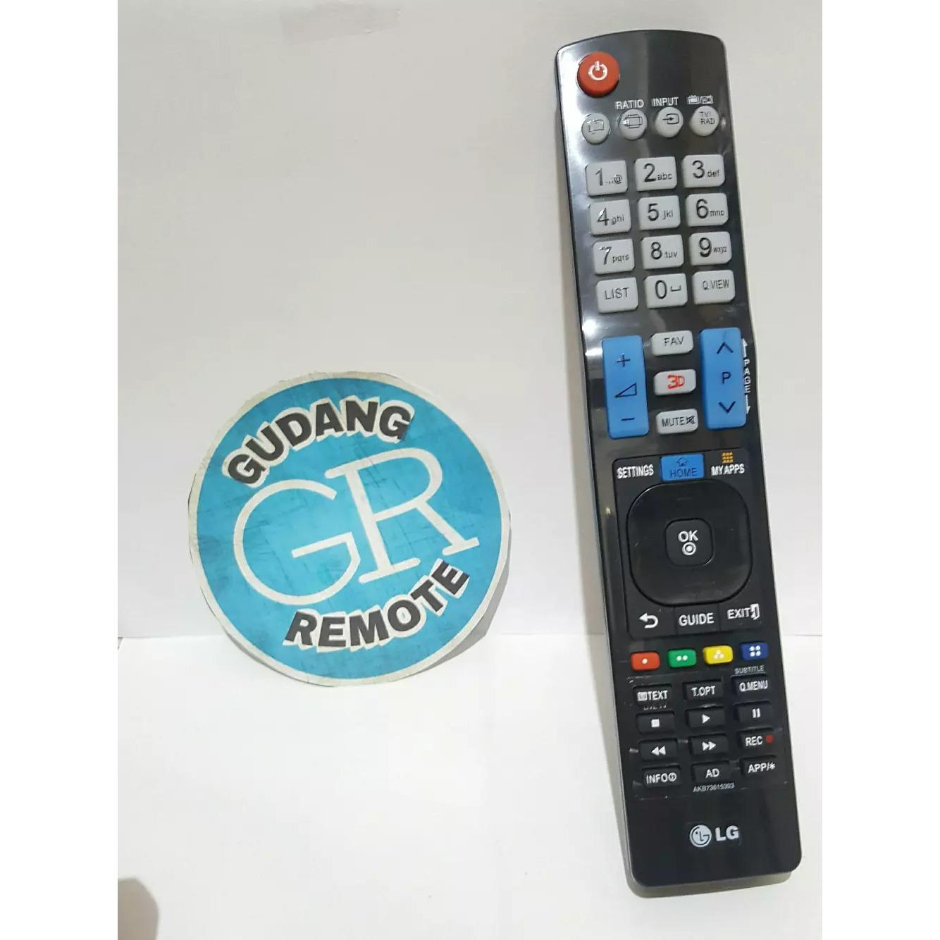 TERLARIS Remote TV LG LED-LCD Panjang TOKO RISBAS