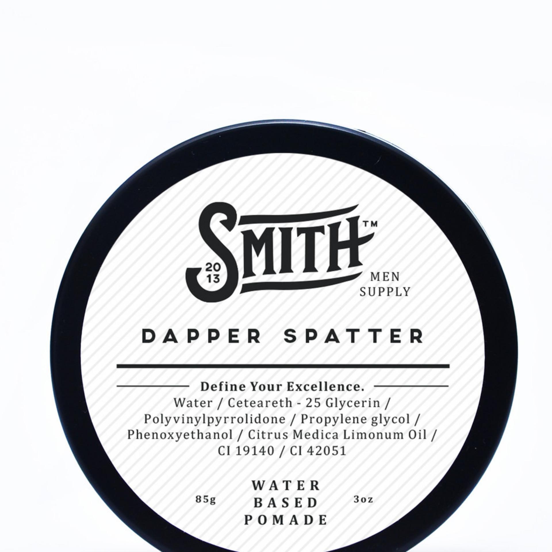 Jual Pomade Smith Dapper Spatter Waterbased 3 Oz Online Di Dki Jakarta