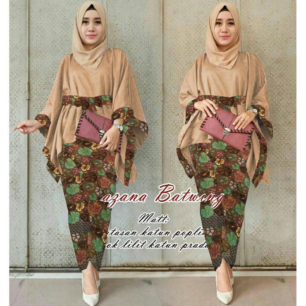 ... baju batik wanita/kebaya modern kalong. Source · Grosir Hasanah Setelan kebaya Tradisonal / Kebaya Asmiranda Seragaman Untuk kondangan.