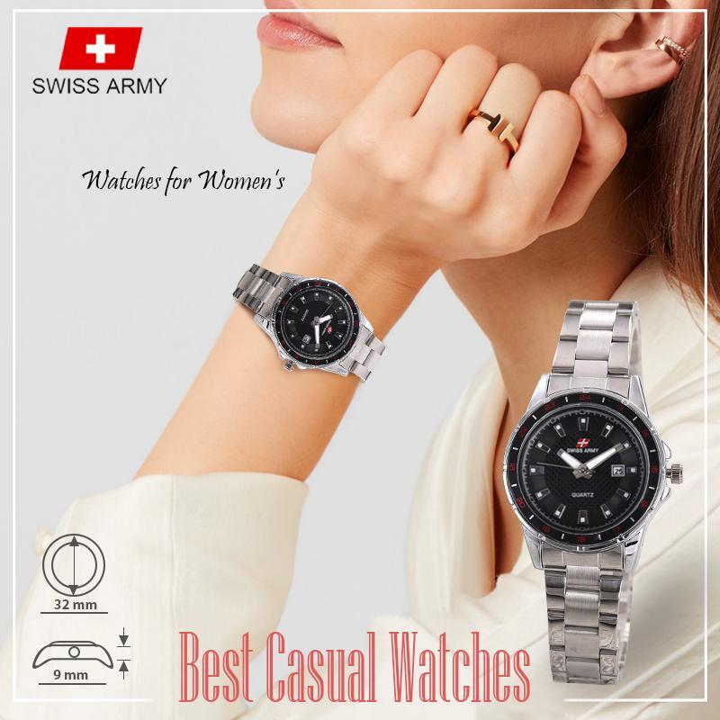 Gambar Produk Swiss Army - Casual Watches - Jam Tangan Wanita - TGL - Stainless Steel Lengkap