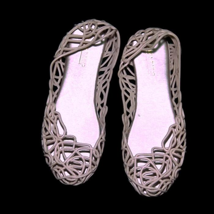 Detail Gambar Termurah-Bara ~ Bara - Jelly Shoes - Flat Shoes Jelly Jaring-jaring VIO70040 Warna Dikirim Acak Terbaru