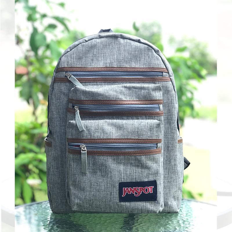Tas Ransel Pelajar / Tas Punggung Kerja / Tas Laptop Denim / Backpack Sekolah - Atdiva
