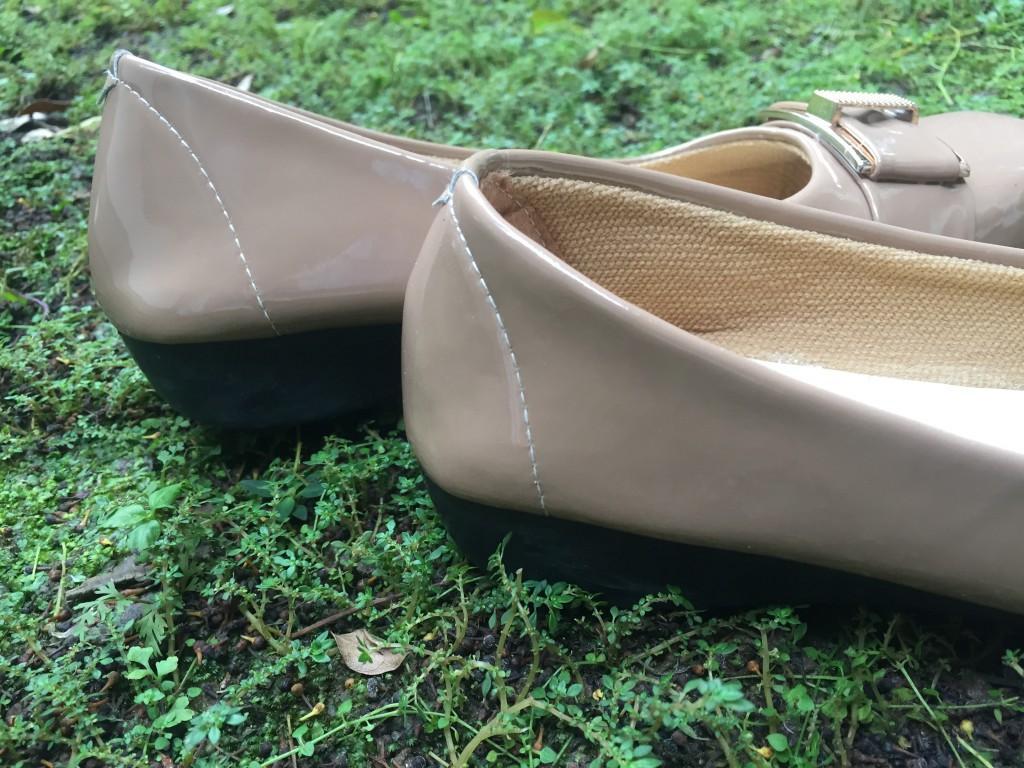... Rembulan Flatshoes Formal Wanita Mocca - 3