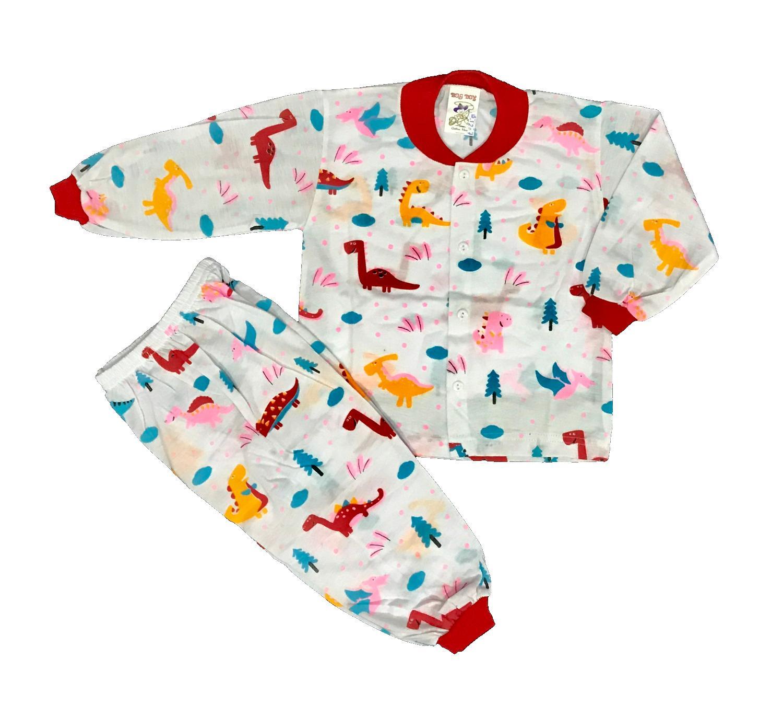 Features Bayie 6 Set Setelan Baju Bayi Anak Lengan Panjang Celana Motif Lucu Umur 1