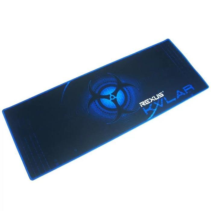 2 Rexus KVLAR Gaming Mousepad T1 Size: 800x300 tatakan alas mouse pad .