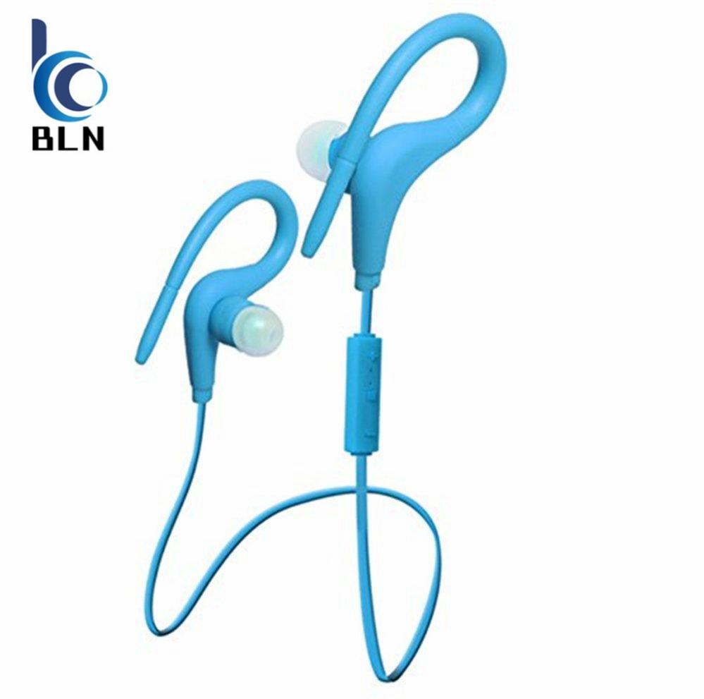 Diskon 【Bln Tech】Bt 1 Sport Wireless Bluetooth 4 1 Headphones Earphone Headset Auriculares Bluetooth For Outdoor Sports Phones Computers Blue Oem Hong Kong Sar Tiongkok