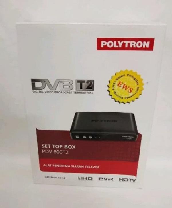 Polytron PDV-600 Set Top Box DVB T2 Kualitas Terbaik - 4 .