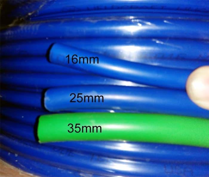 Detail Gambar Kabel LAS INVERTER 16mm FULL TEMBAGA (100%) Terbaru