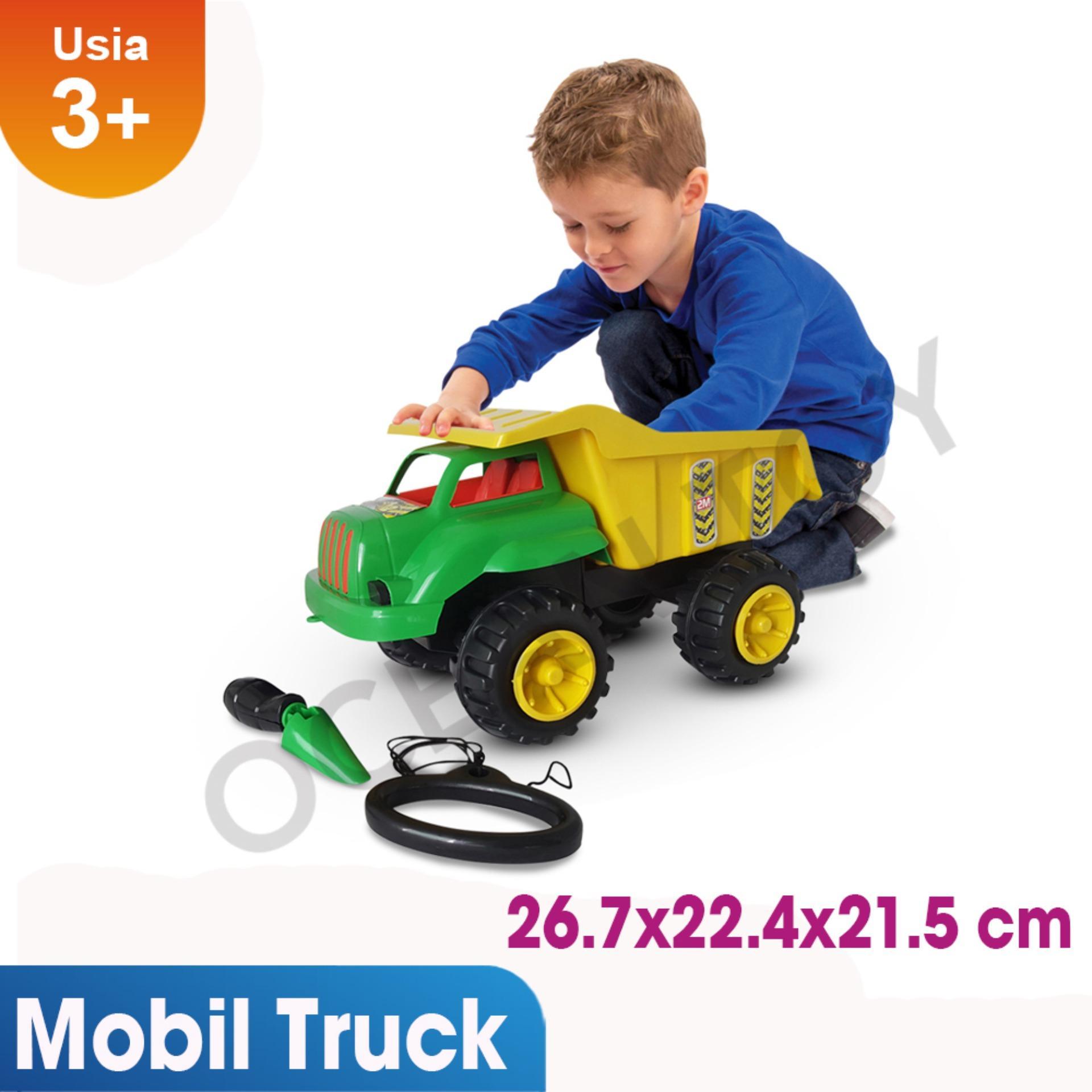 Toko Ocean Toy Yotta Mobil Truck Pasir Crocodile Mainan Anak Crd Multicolor Di Banten