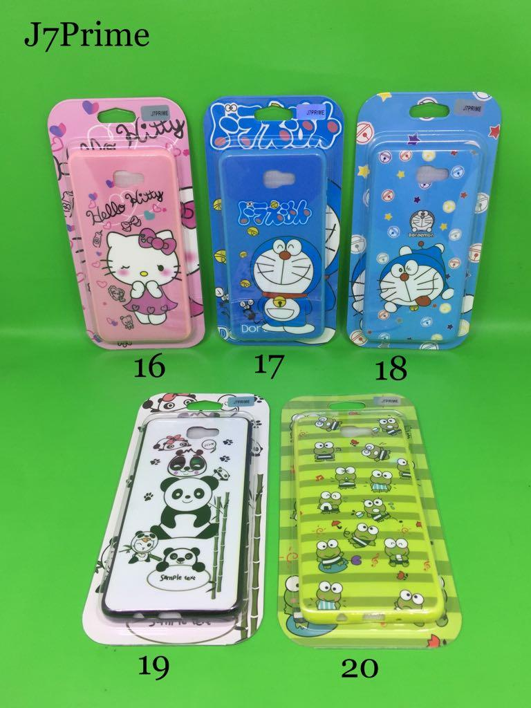 ... CASE 360 GLOSSY NEW KARAKTER 2018 + TEMPERED GLASS SAMSUNG J7 PRIME - 4