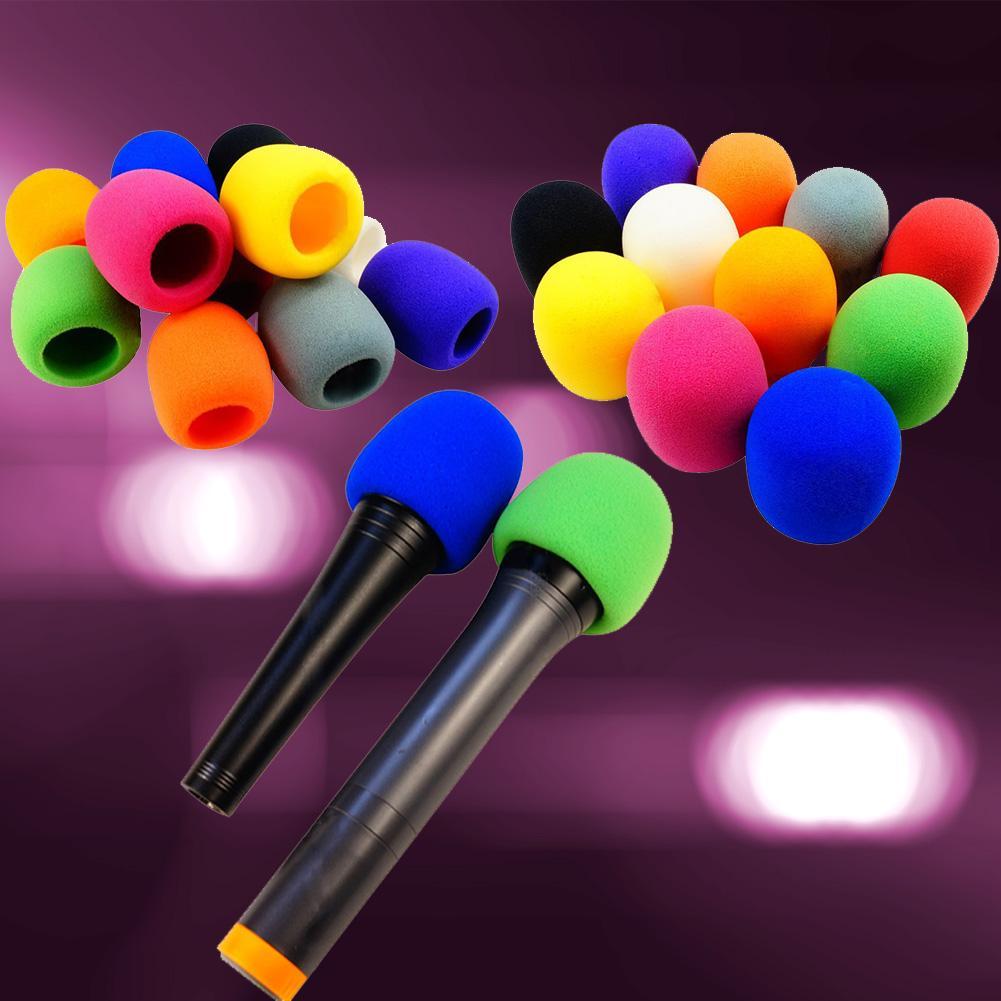 ... Pelatihan Bola Golf Kuning Source ISM 10 Buah Mikrofon Genggam Kaca Depan Busa Spons Penutup Mikrofon