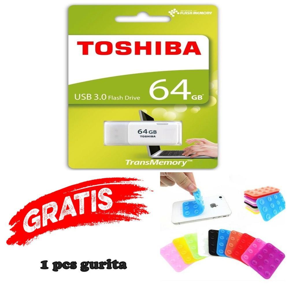 The Cheapest Price Flashdisk Toshiba 64gb Flash Disk Drive Disc 64 Gb Hayabusa Free Gurita