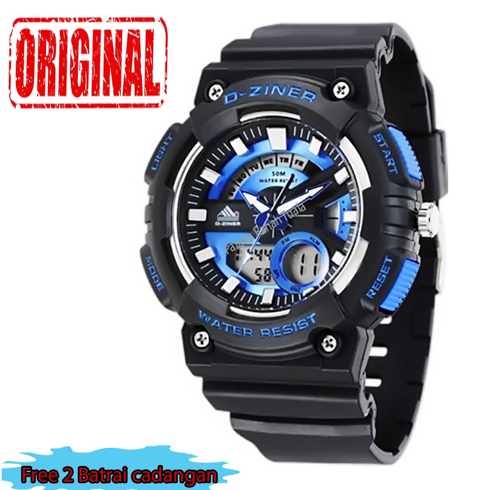 Cek Harga Baru Casio Dual Time Watch Jam Tangan Pria Hitam Strap ... 71349d91f8