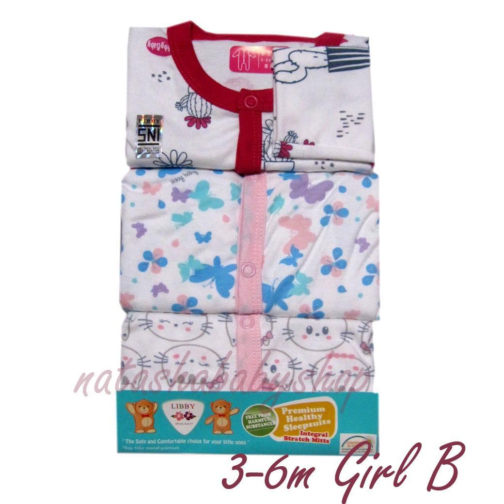 Toko Libby Sleepsuit Pack G*rl Terlengkap Di Dki Jakarta