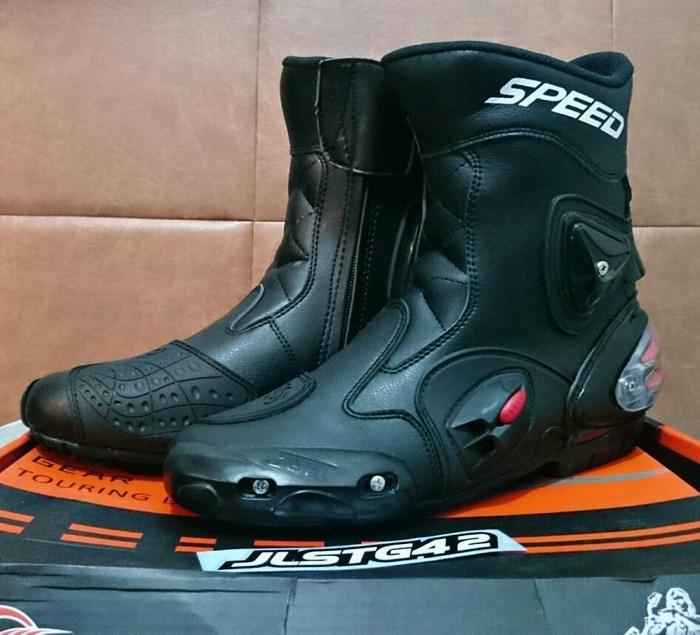 Sepatu speed A004 (non sidi,alpinestar,dainese)