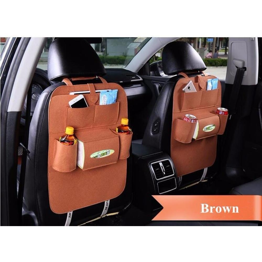 Jual 283 Car Seat Organizer Tas Mobil Multifungsi Dipasang Di Belakang Jok Di Bawah Harga