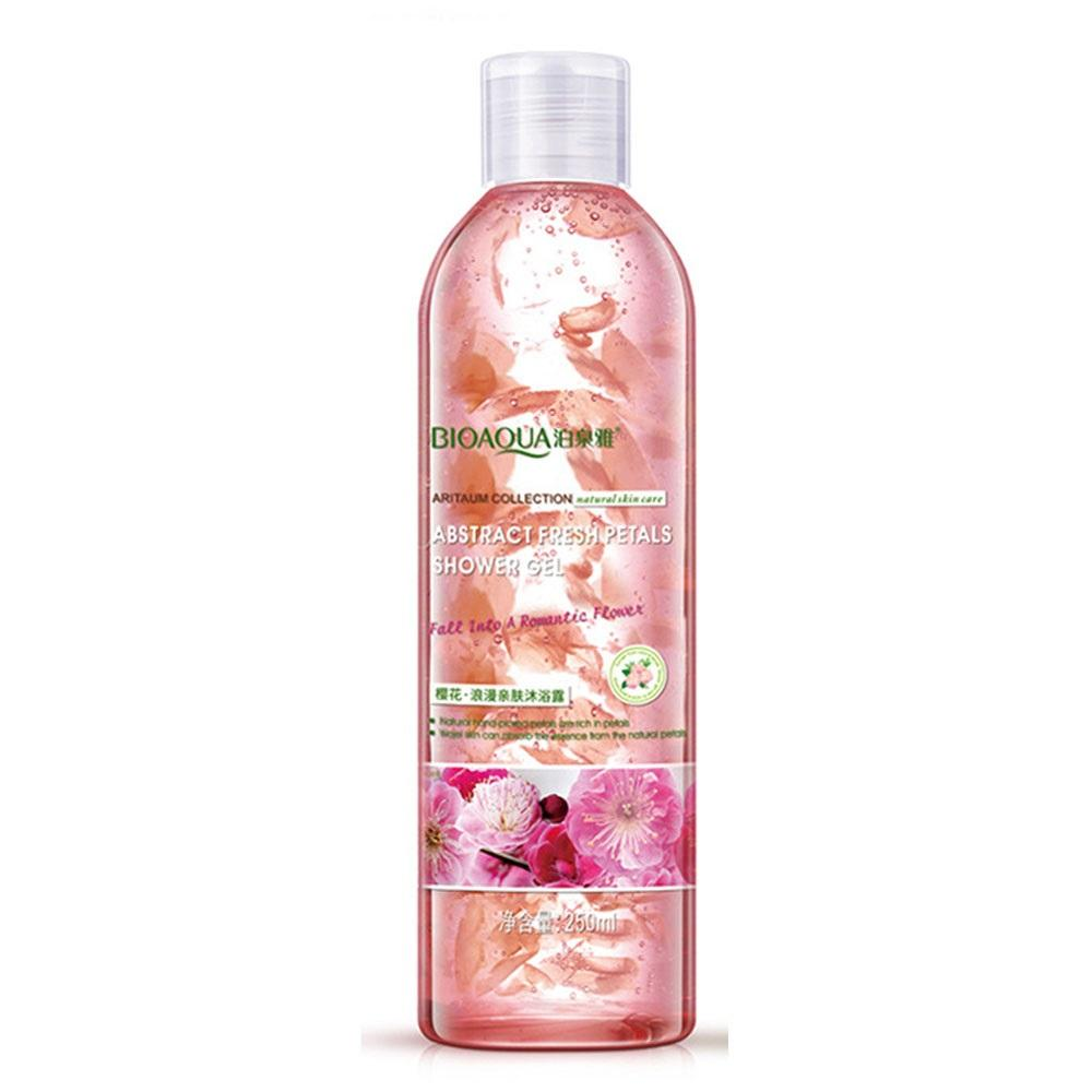 Palmve Shower Gel Sensual 250ml Daftar Harga Terlengkap Indonesia Buy 2 Cream Botol Get Free Refill Bioaqua Abstract Fresh Petals Cherry Blossom Pink