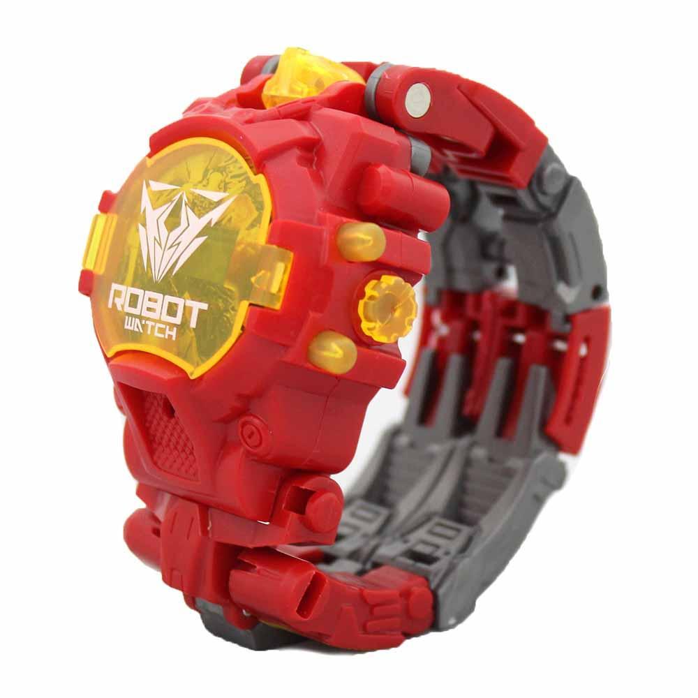 Fitur Jam Tangan Anak Robot Transformers Dwi Fungsi Bisa Transformer Mainan 4