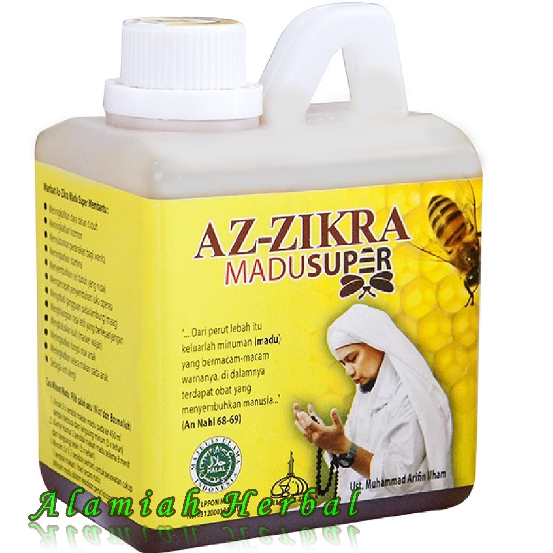 Review Alamiah Herbal Madu Az Zikra Madu Super Az Zikra Madu Manis Az Zikra Madu Arifin Ilham Madu Asli 500Gr Az Zikra Di Jawa Barat