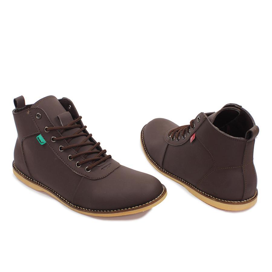 ... sepatu casual boots pria kickers bandit brodo boot formal keren murah -  4 ... b48a7a701f
