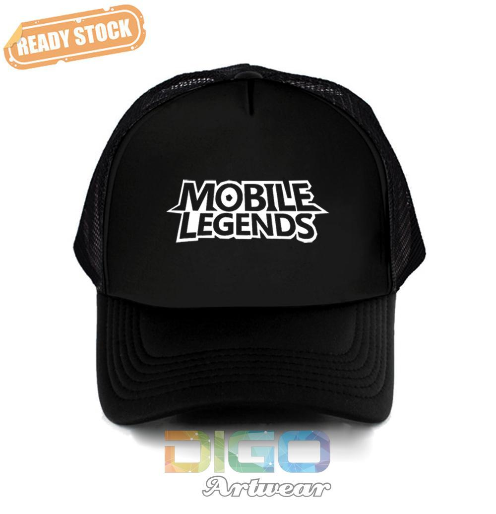 Topi Mobile Legend Games Trucker - Hat Game Mobile Legend