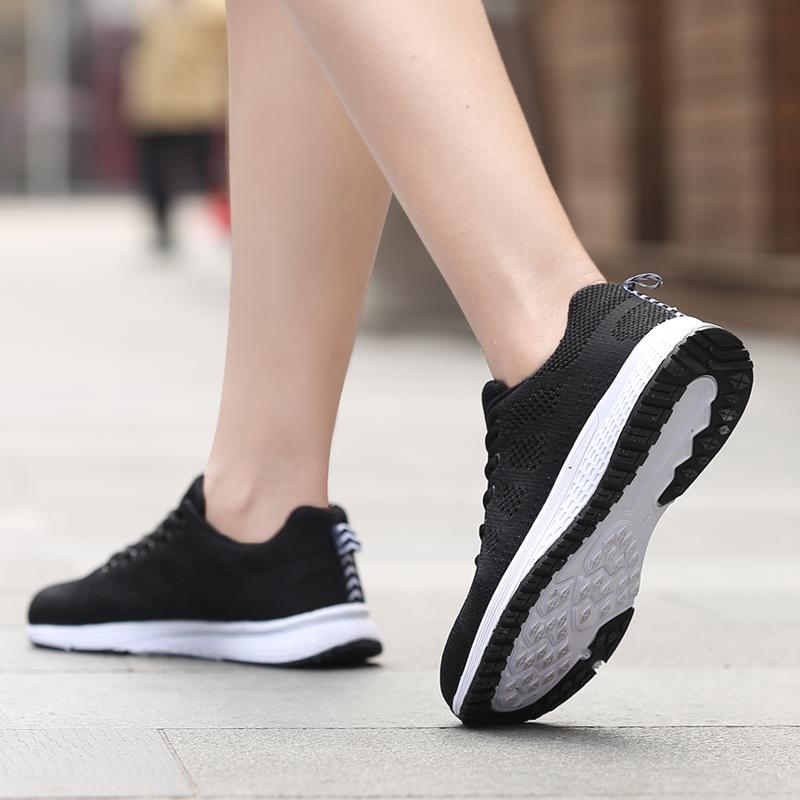 QINGSHUI Women Fashion Sneakers Breathable Mesh Womens Running Shoes Lightweight Sport Shoes Women Jogging Walking Shoes - intl - 5