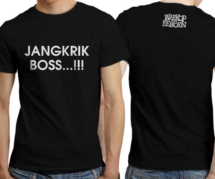 Kaos Warkop DKI Reborn Jangkrik Boss Hitam Distro Warung Kopi