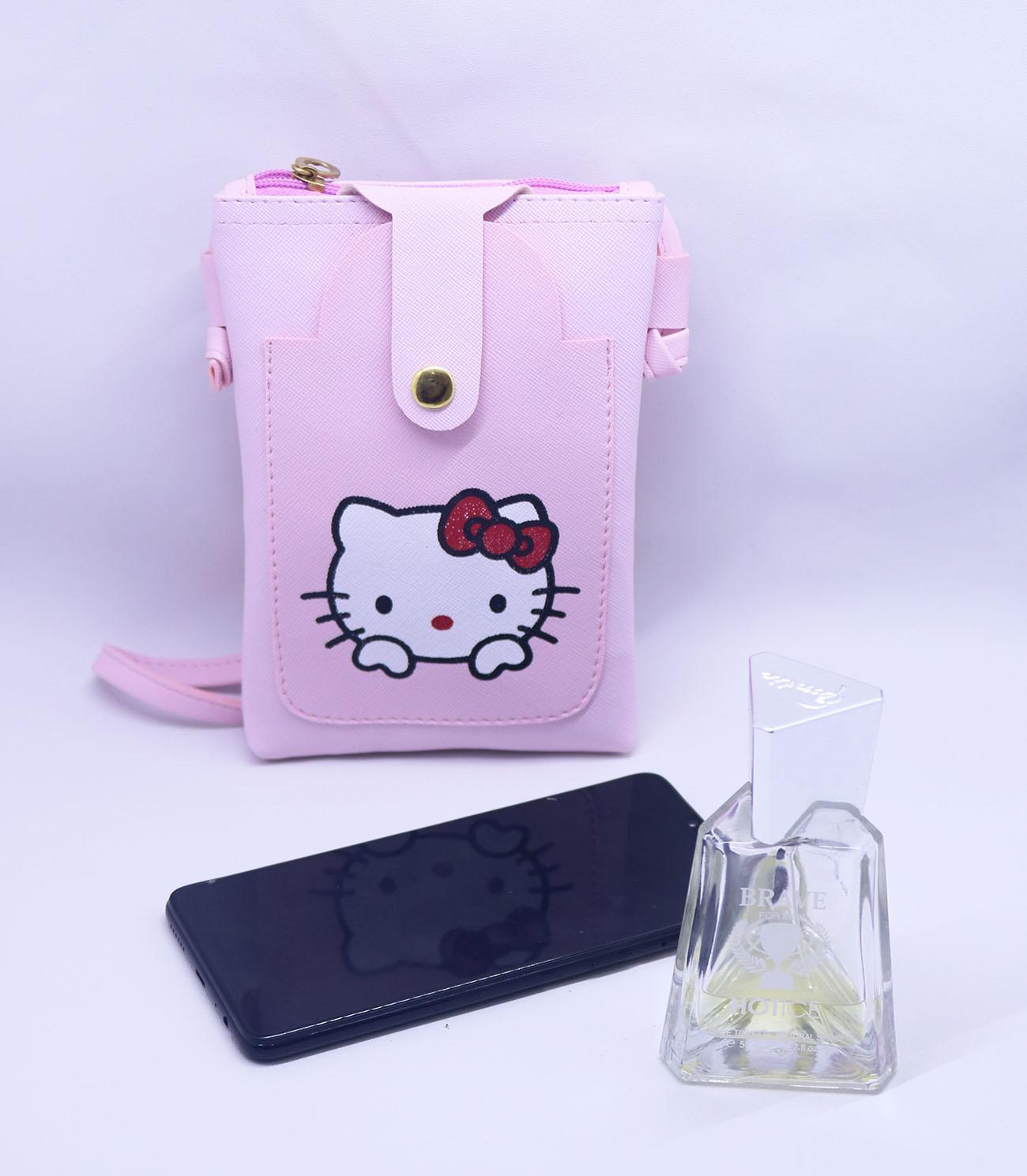 Yabeshop Tas Wanita Woman selempang Fashion Hello Kitty