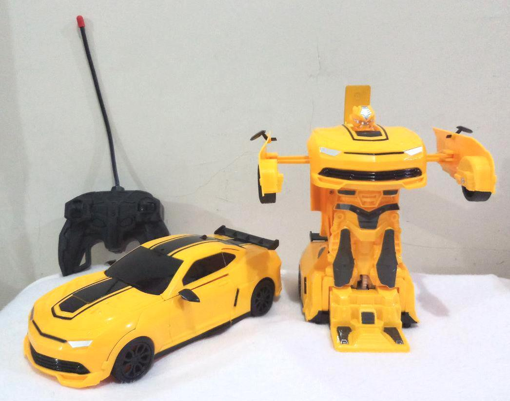 Kelebihan Remote Control 2in1 Deformation Bumble Bee Mobil Robot