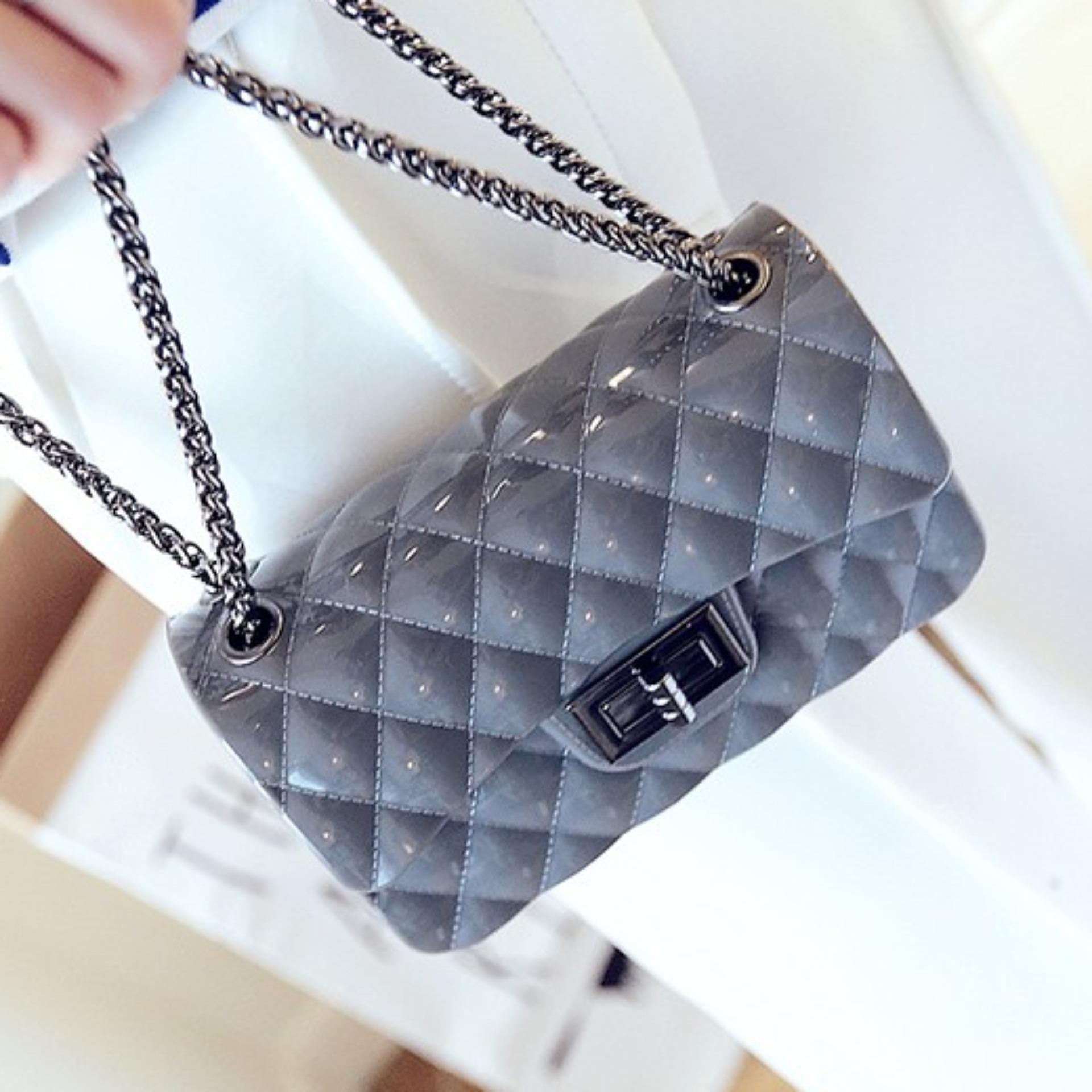 Tas Wanita Trendy Lestari Fashion HDSk450069 . Source · Louis - Tas Fashion Premium Jelly Silica
