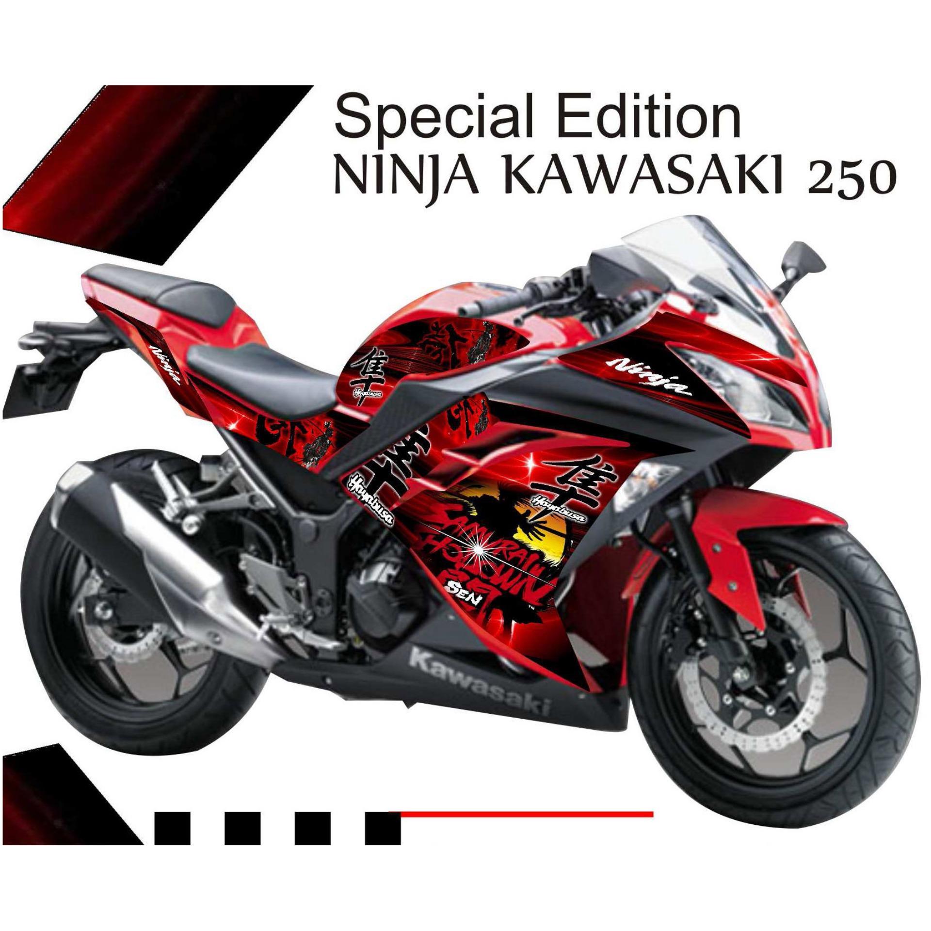 Decal Ninja Fi 250 Cc