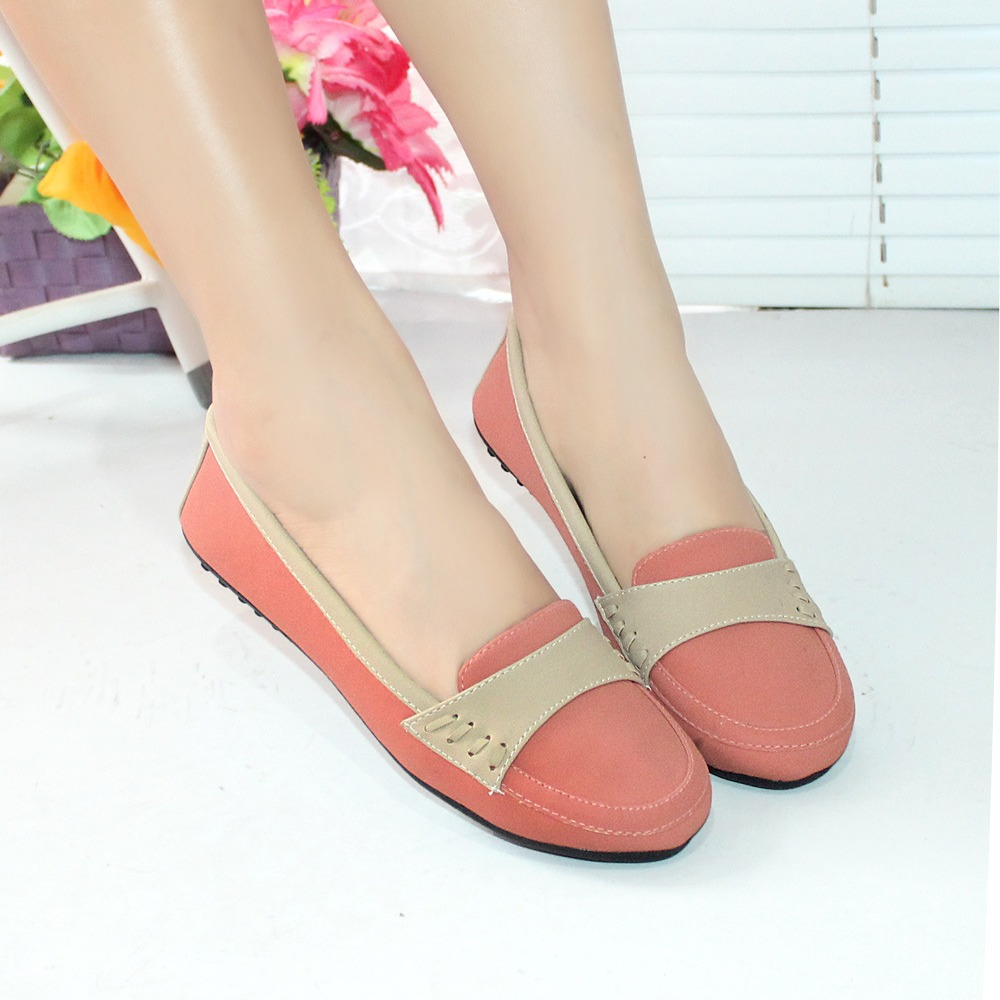 Sepatu Wanita Flatshoes Flat Shoes Glossy Mocca Nfz 07 Page 5 Polkadot New Arrival Of Fashion Products Wedges Pantofel
