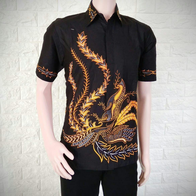 Batik Pria Casual: Model Baju Batik Kombinasi Cowok 2019
