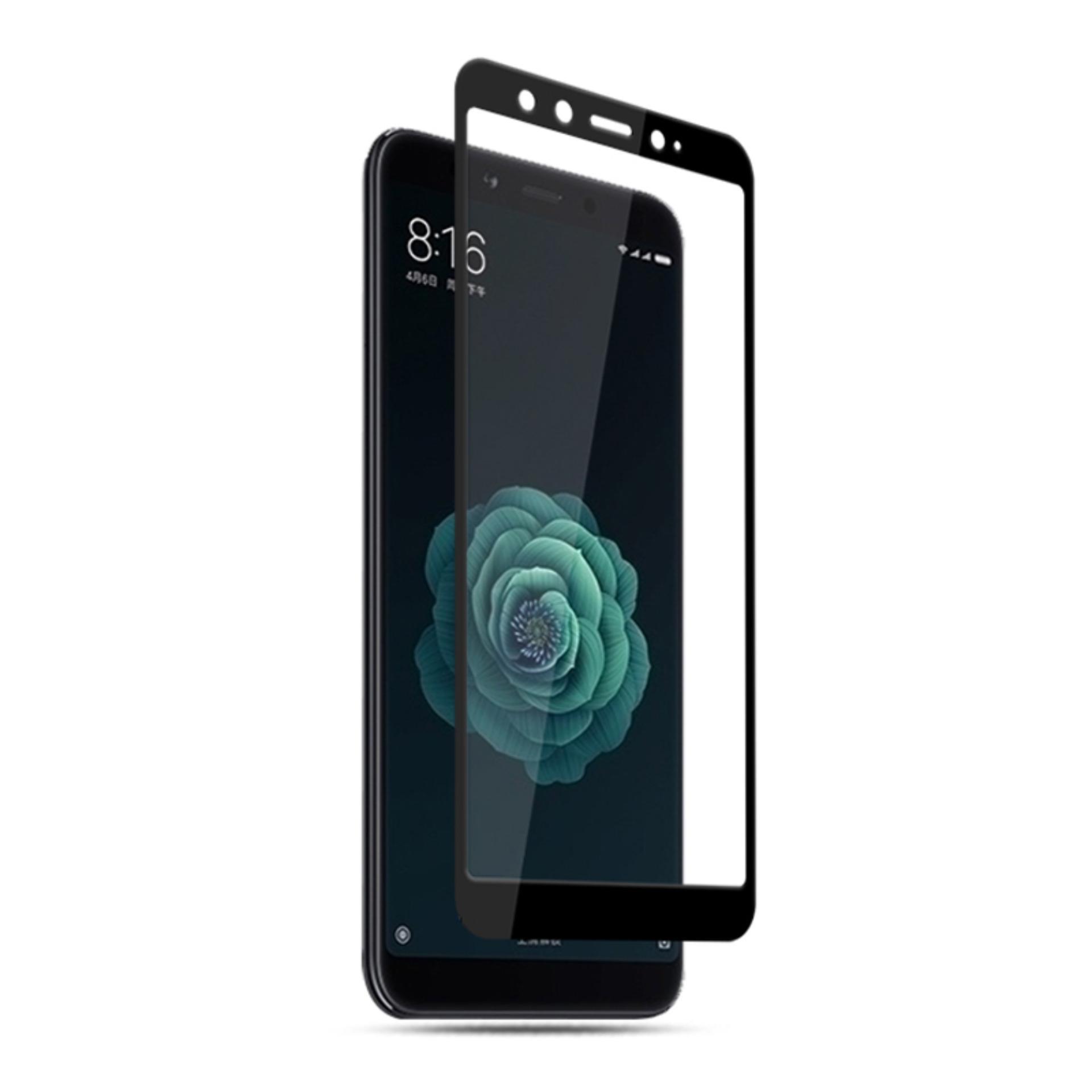 Accessories Hp Full Cover Tempered Glass Warna Screen Protector for Xiaomi Mi A2 / Mi 6X