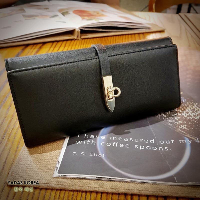 Spesifikasi Yadas Korea Donatella Dompet Wanita Import 6809 14 Black Yadas Korea