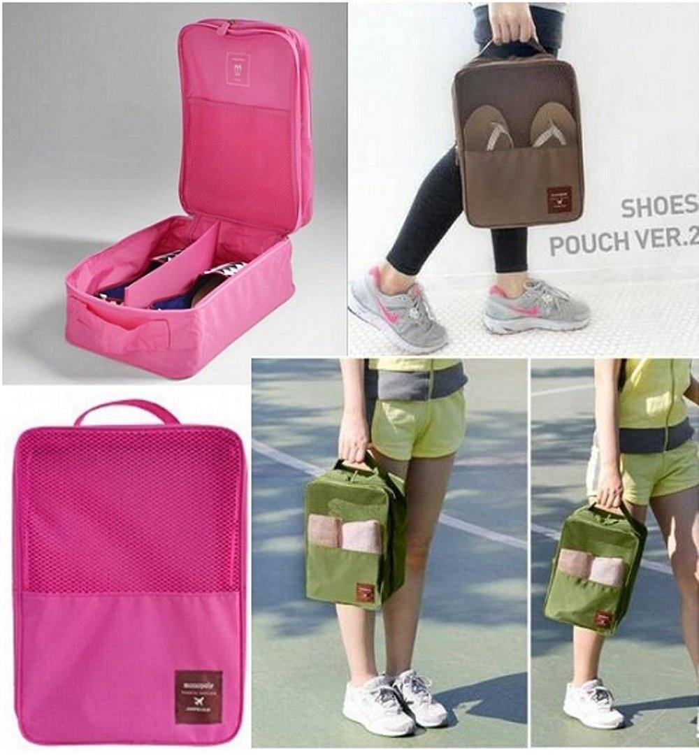 Korea Monopoly Travel Shoe pouch ver 2 /Shoe Bag organizer /Tas .