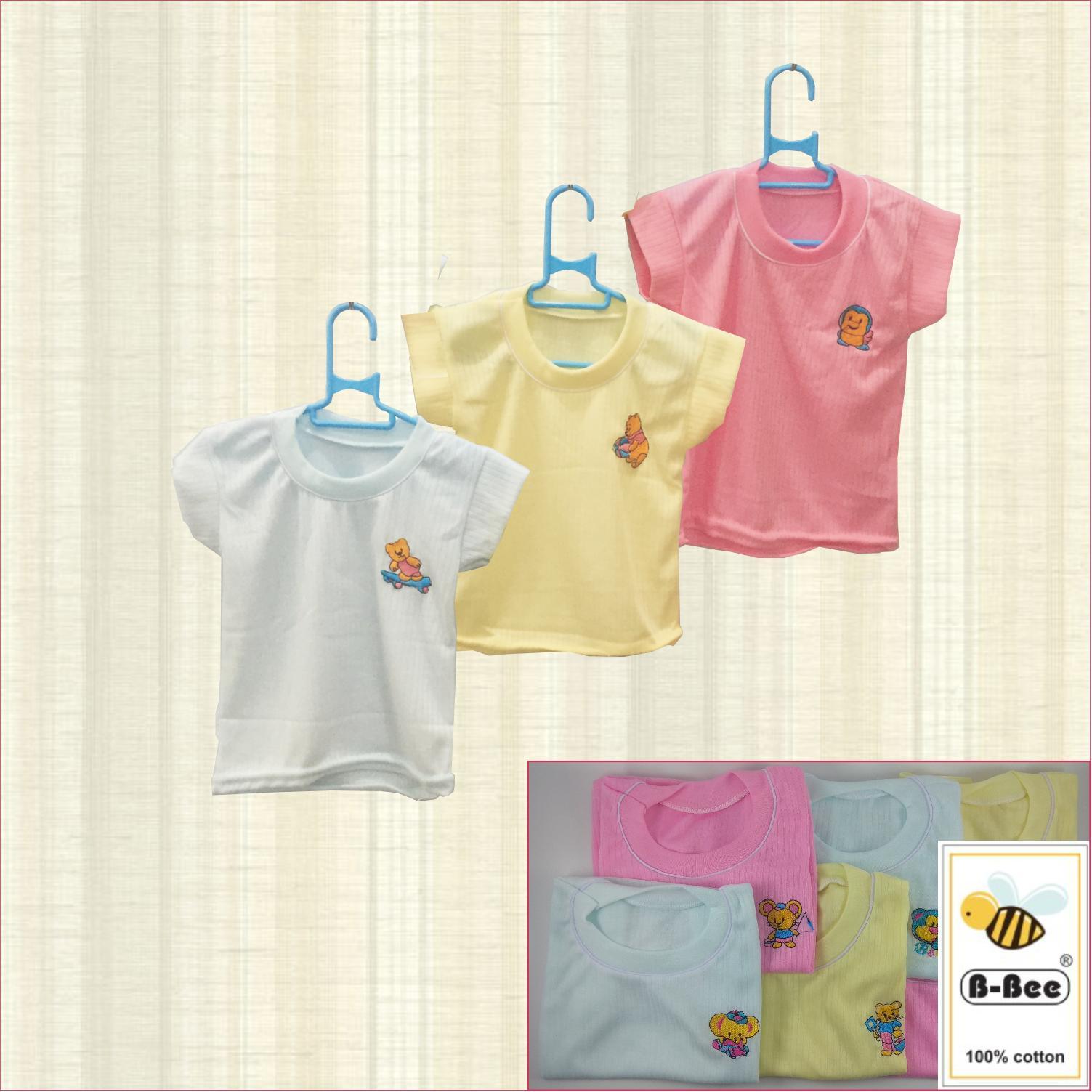 Luvita Baju Bayi Lengan Celana Panjang Polos M L 1 Set Daftar Oblong Iol Anak Pendek B Bee