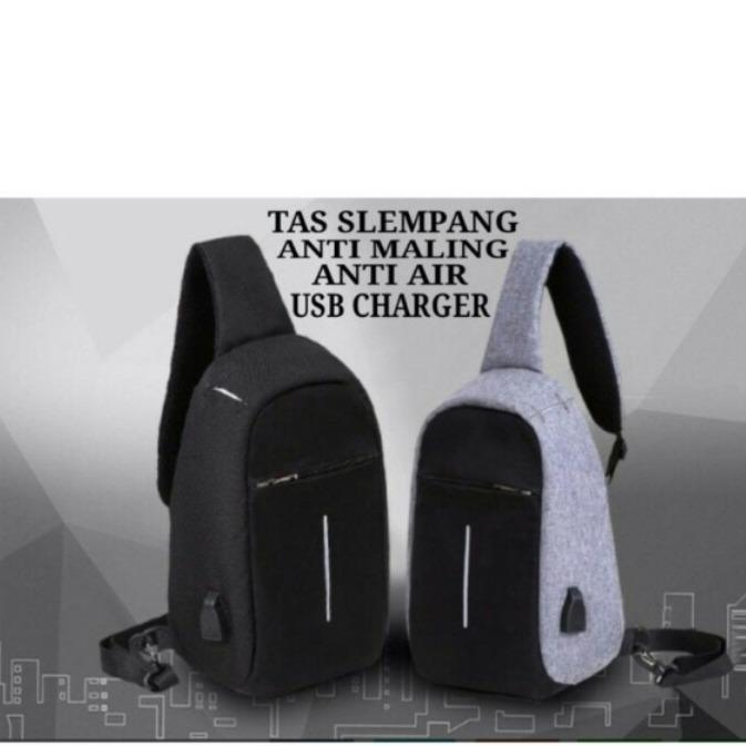 Smart Backpack Plus Tas Anti Maling Plus Sling Bag - Update Daftar ... e31e32de31