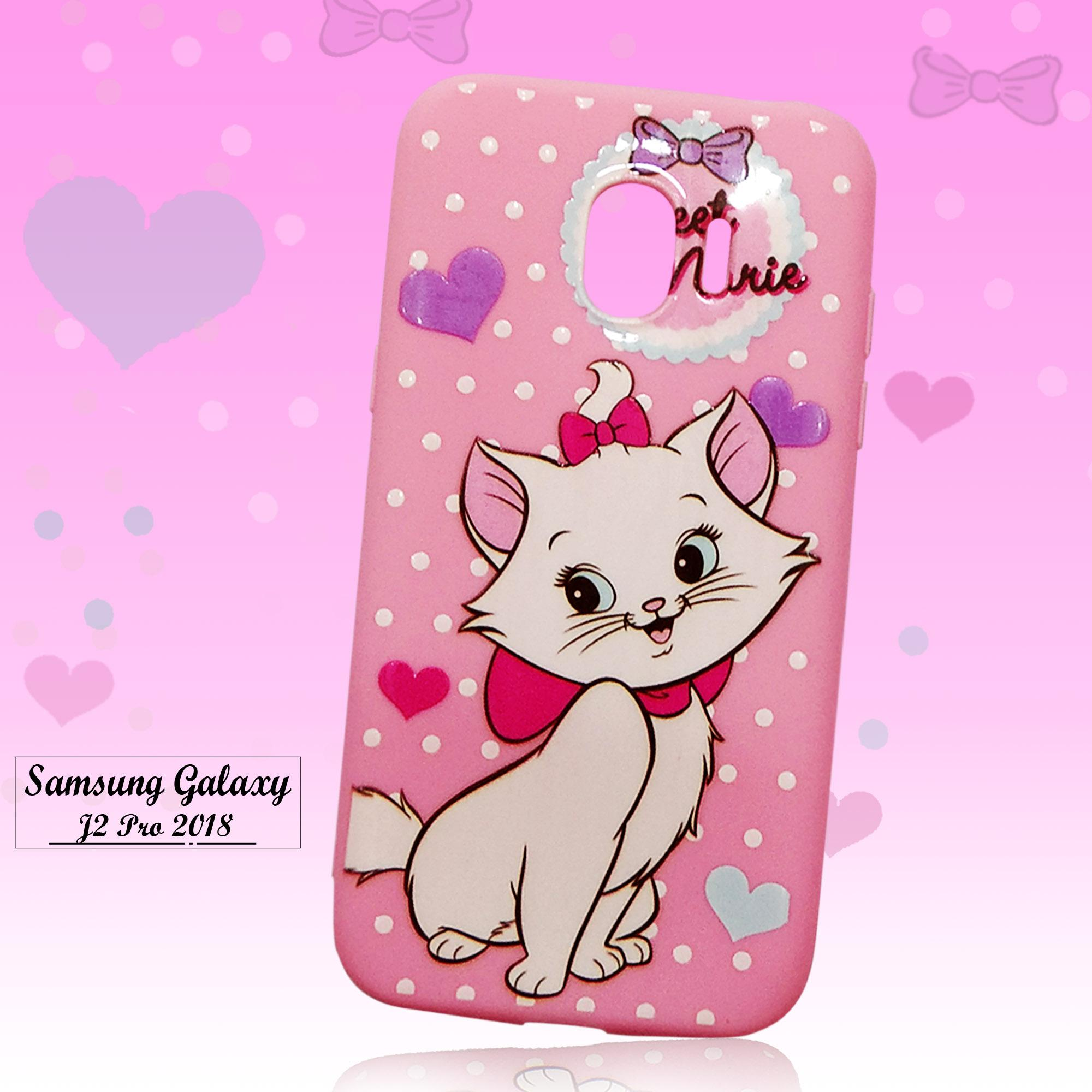 Fitur Softcase Cute Fashion Phone Case New Samsung Galaxy J2 Pro